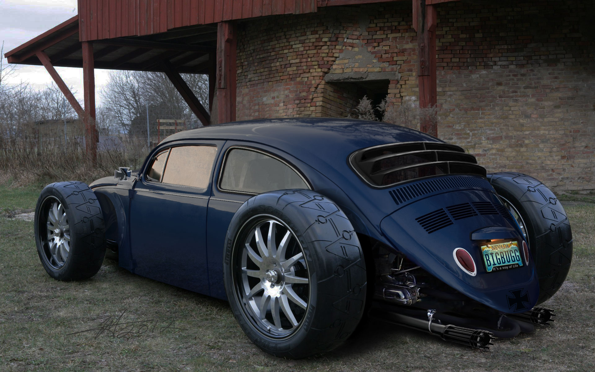 awesome riding vw bugs hotrods vw beetles volkswagen hotrods big wheels cars rats rods
