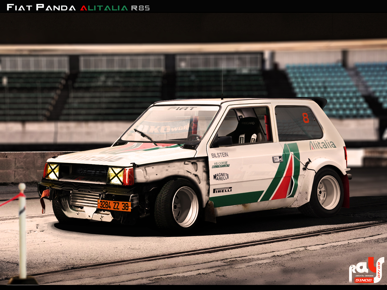 Tuning Fiat Panda Alitalia The Fiat Forum