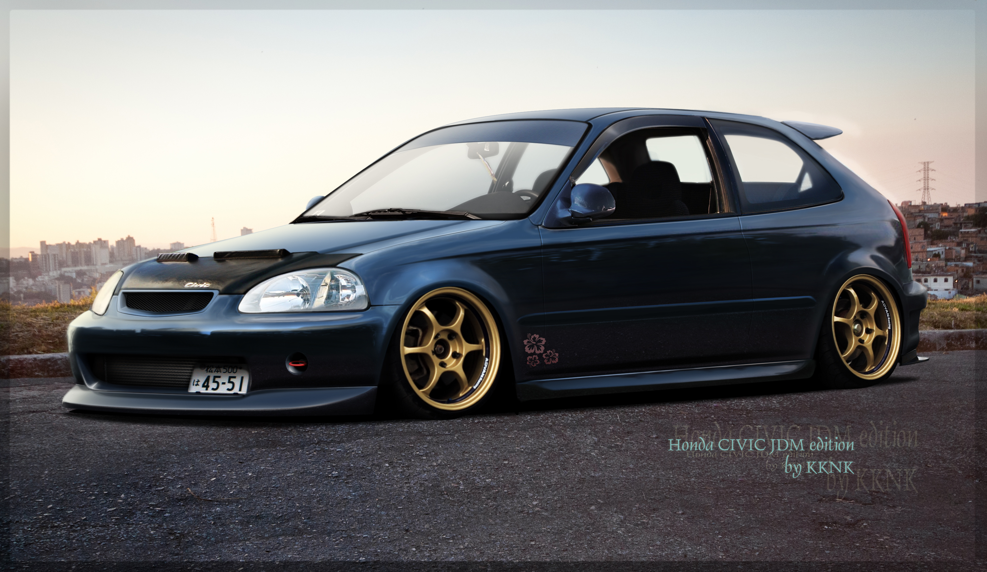 dc users 1 262PQ 70 chops Honda civic EK JDM style by Kukenukas jpgHonda Jdm Wallpaper