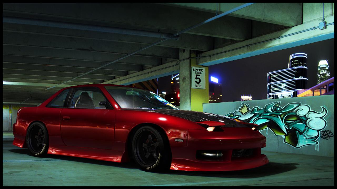 Nissan 240SX: 3 фото.