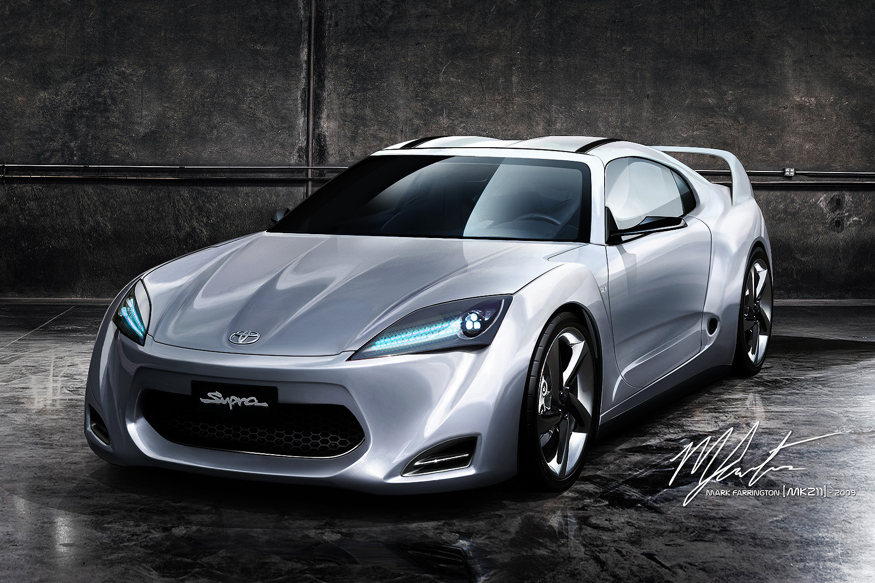 Car Collections News 2011 Toyota Supra Concept With