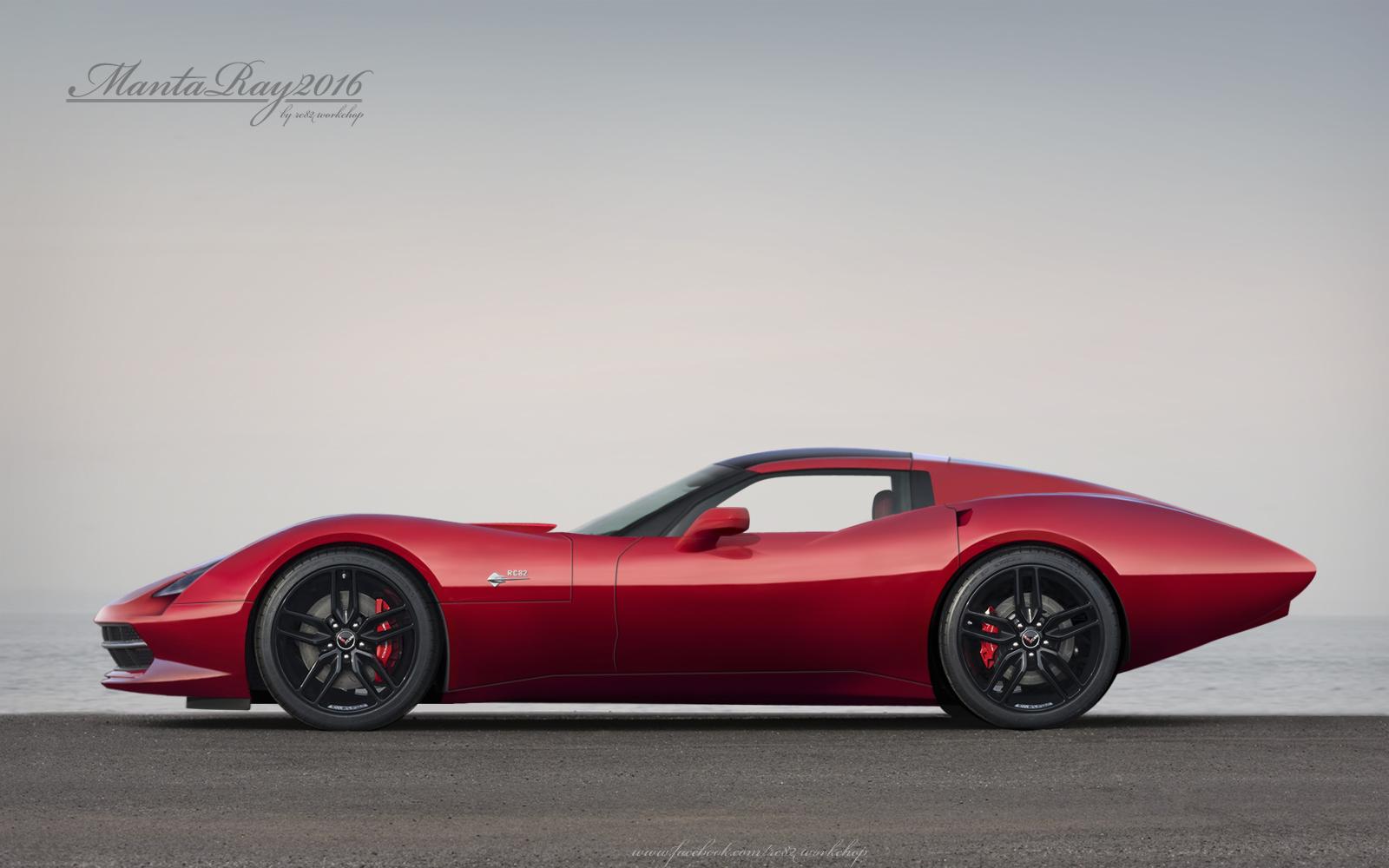 Corvette Stingray Concept Basis 2016 Corvette C8 | Autos Weblog