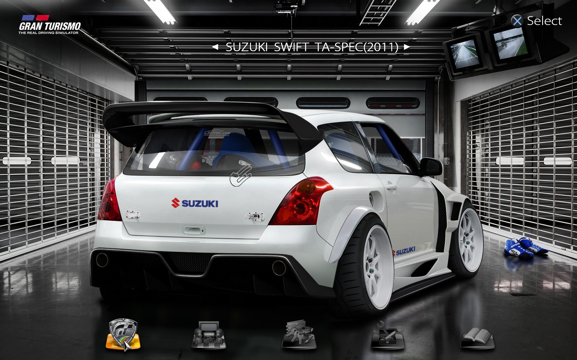 Suzuki Swift Modified Parts