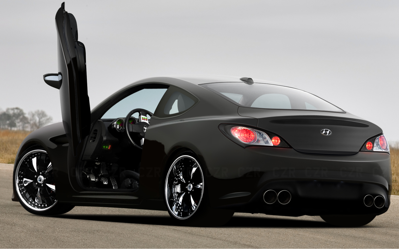 2013 Hyundai Genesis Coupe Review Price And Specs | Black Models ...