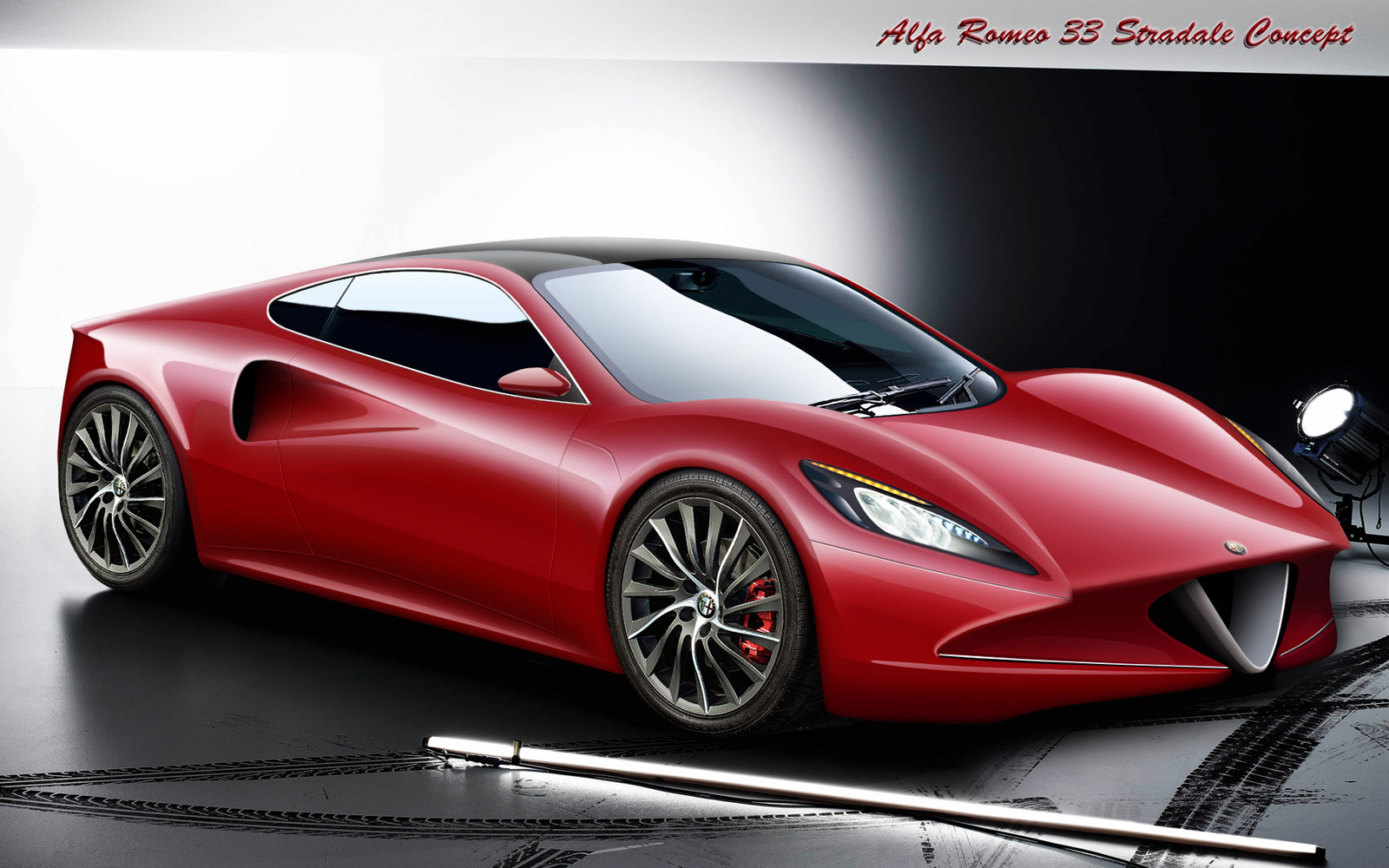 Alfa Romeo Stradale Concept By Ferrari F