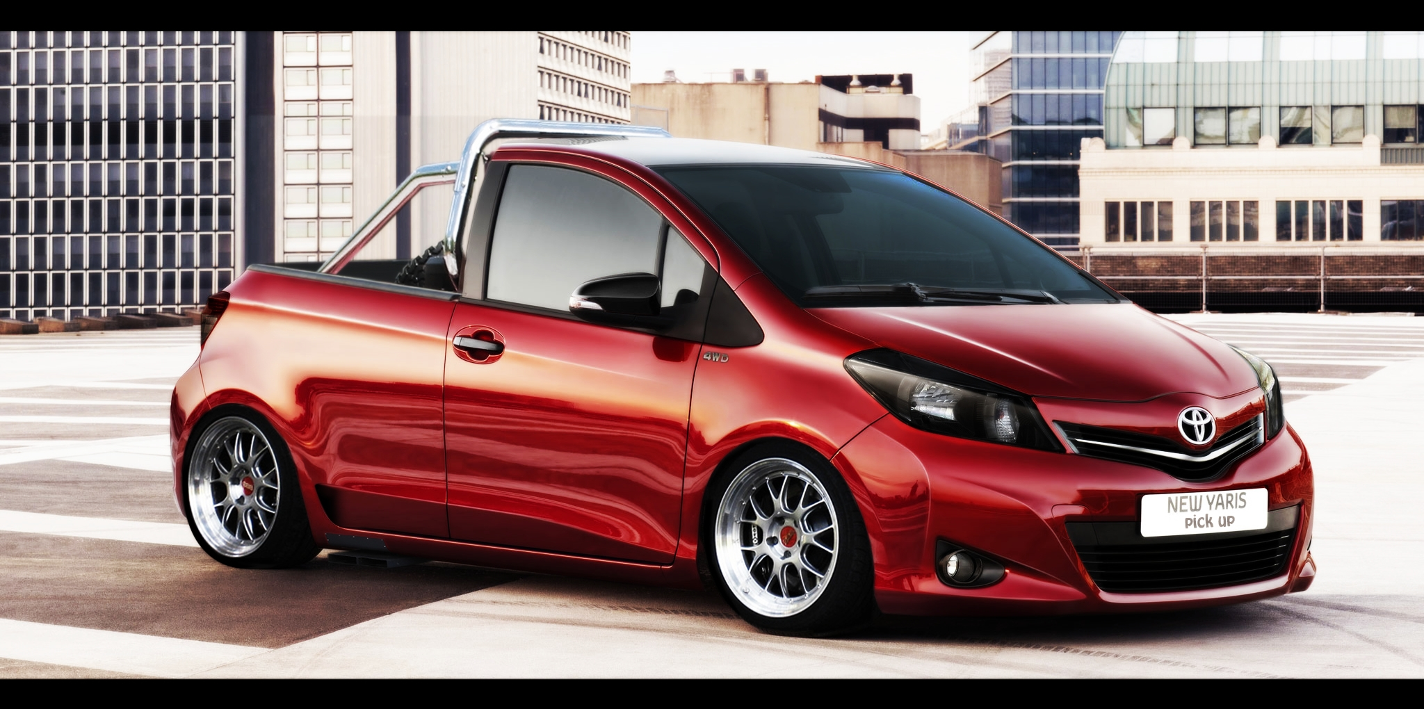 Toyota Yaris Pick Up By Renato