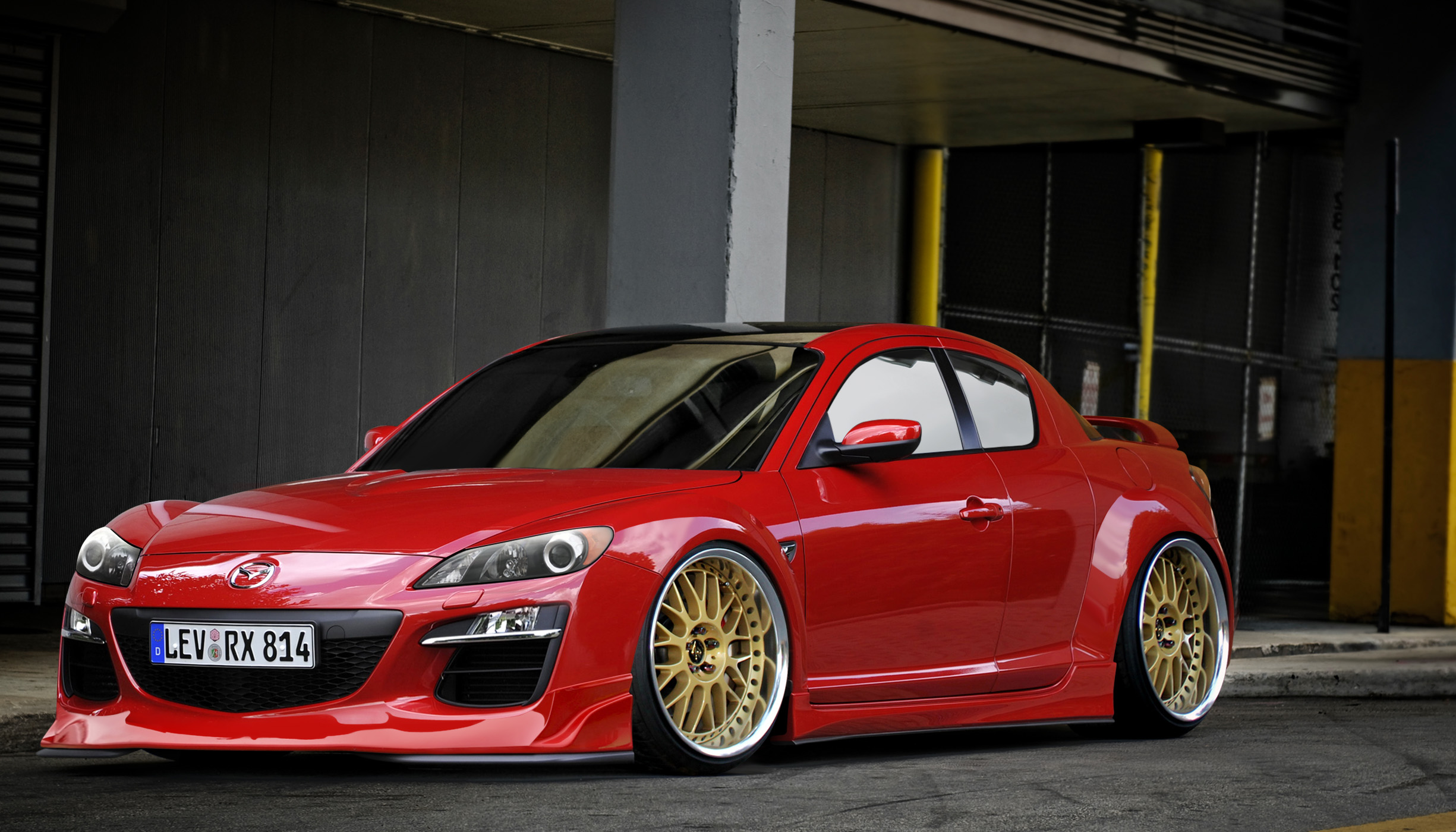 mazda rx8 modified red. mazda rx8 modified red i