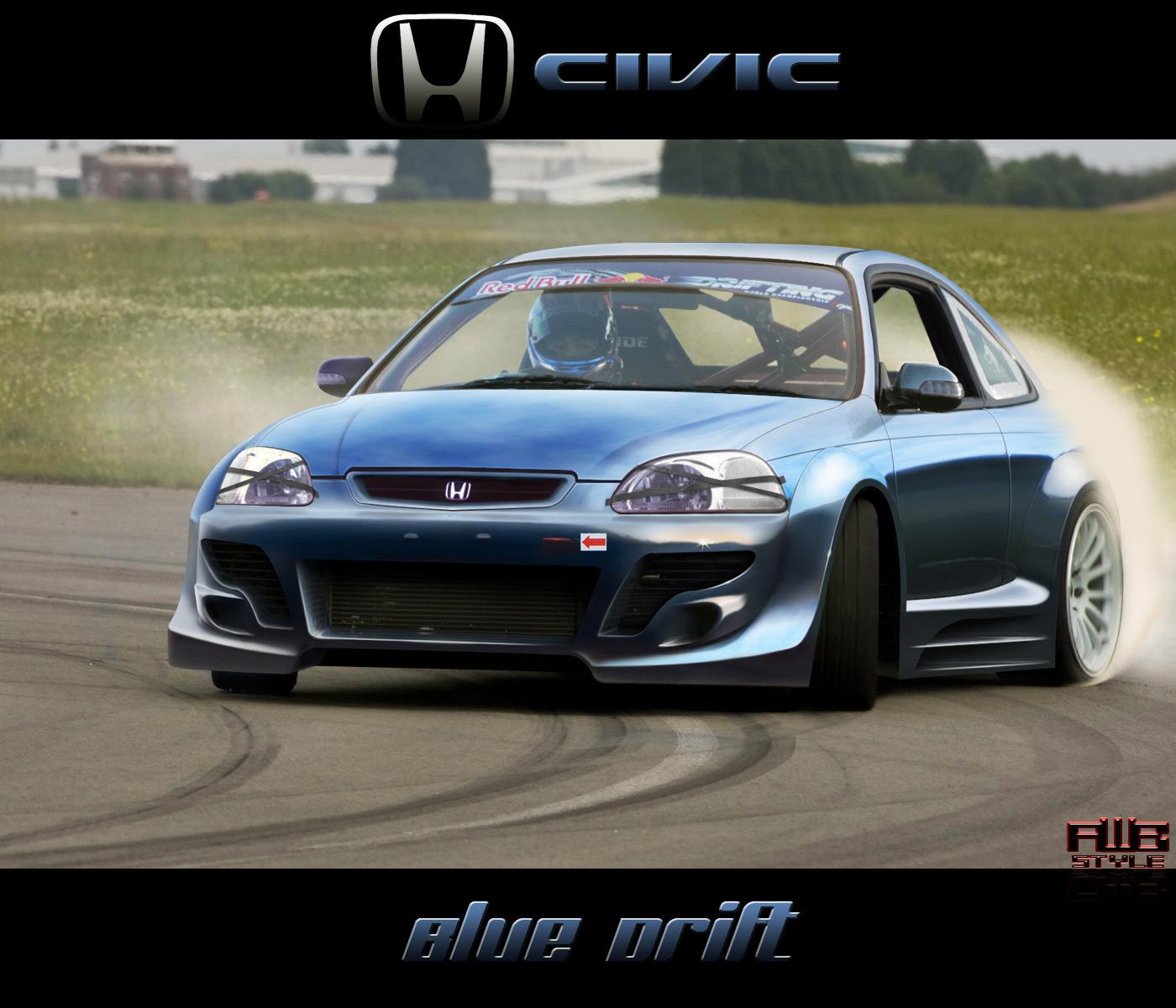 Honda civic drifting videos