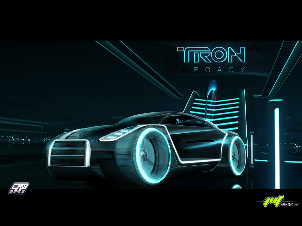 If you like Daft punk or Tron listen to this!!!!! - Page 2 Tron_car_by_flameks