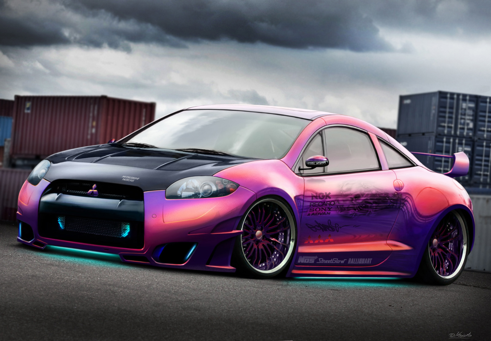 cool car paint designs