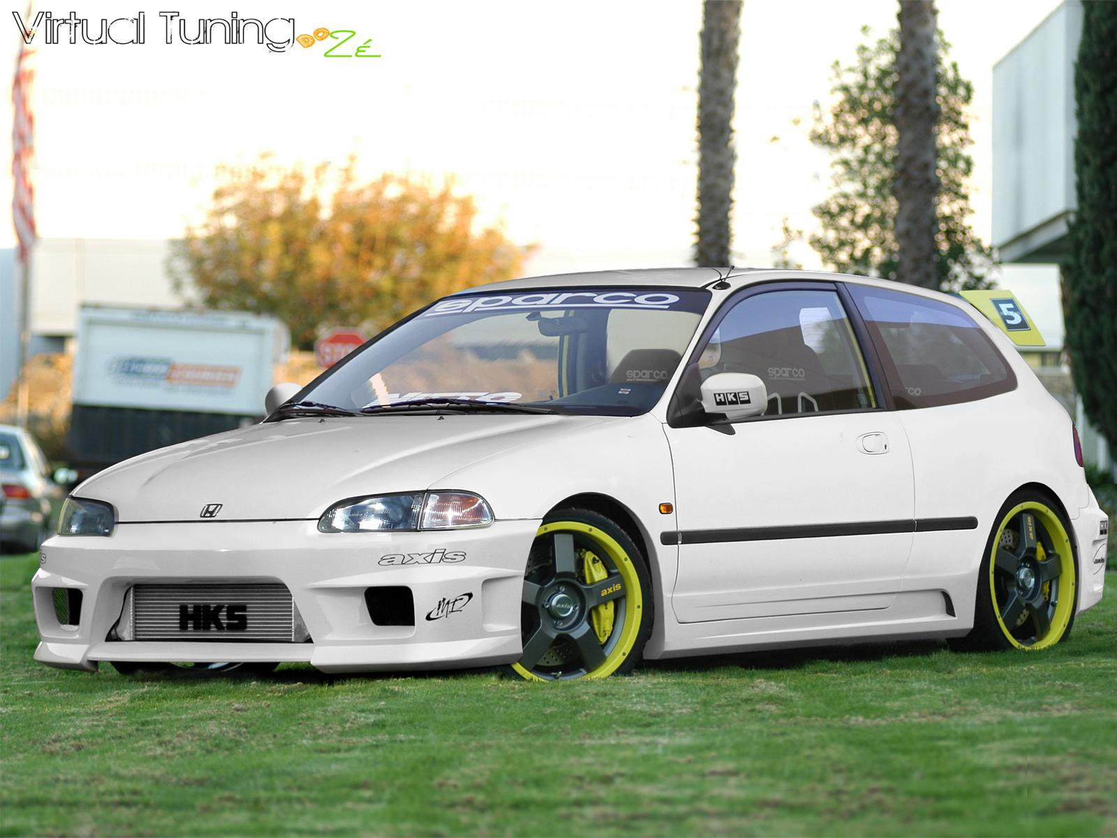 Хонда цивик 1993 фото