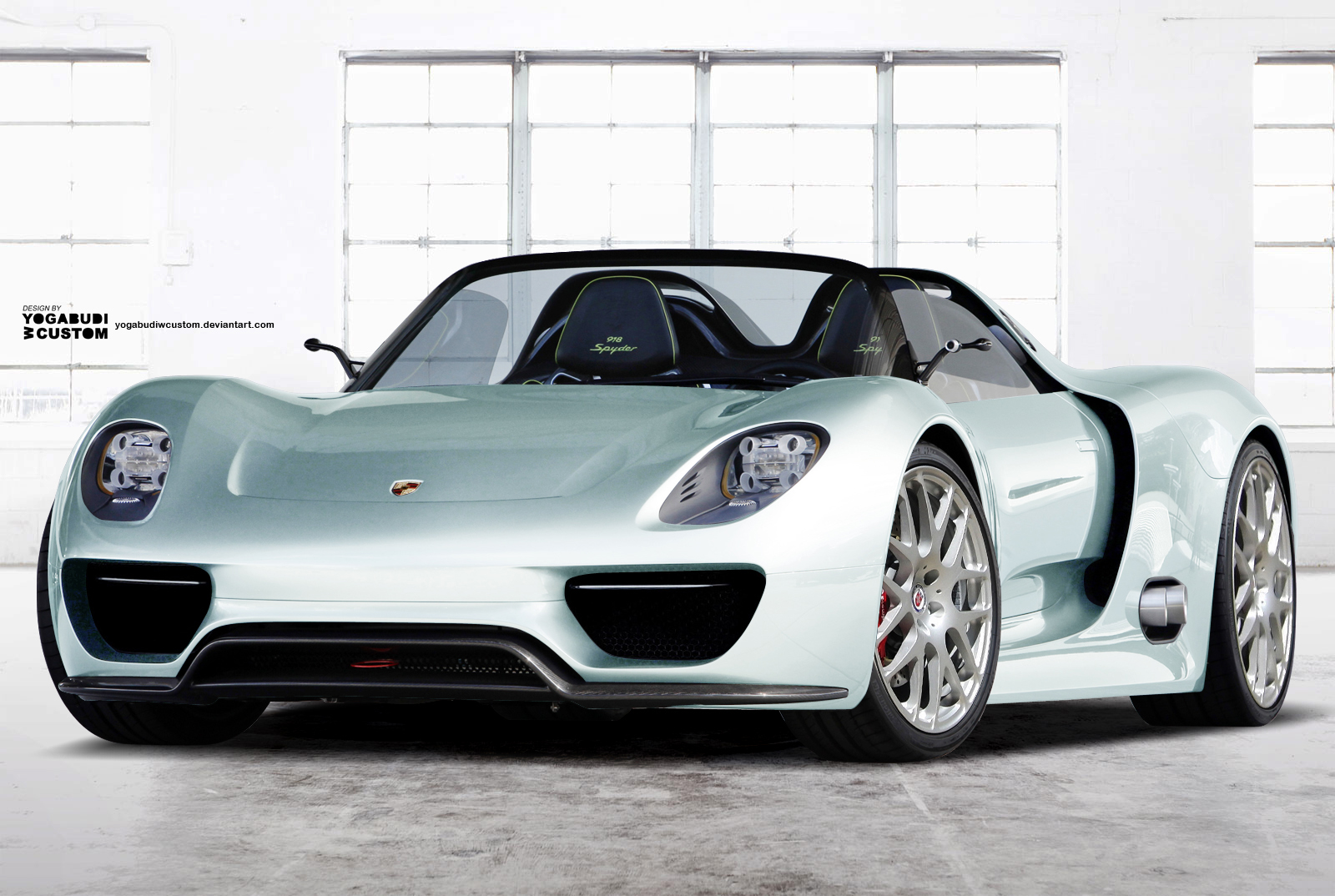 porsche 918 spyder concept white white finished porsche 918 spyder is for sale porsche 918. Black Bedroom Furniture Sets. Home Design Ideas