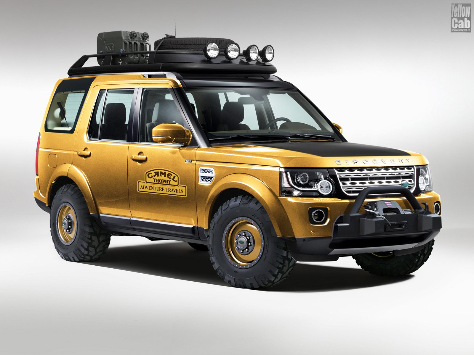 Land Rover Defender Camel Trophy >> Yellow Cab's Profile › Autemo.com › Automotive Design Studio
