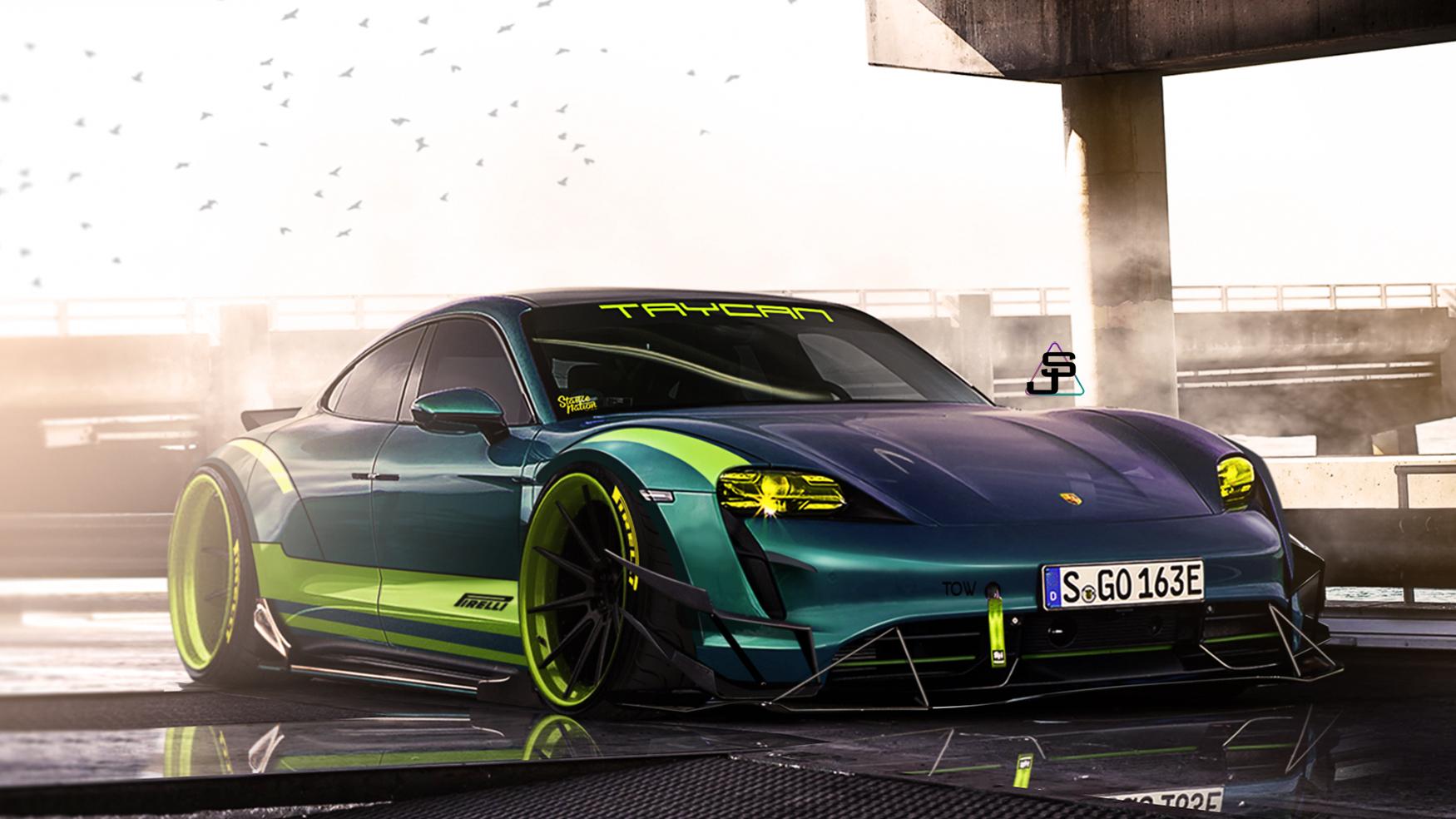 2020 Porsche Taycan Turbo S Comptition Autemo Com Automotive Design Studio